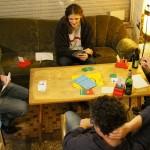 junge Bridgespieler in Neukölln